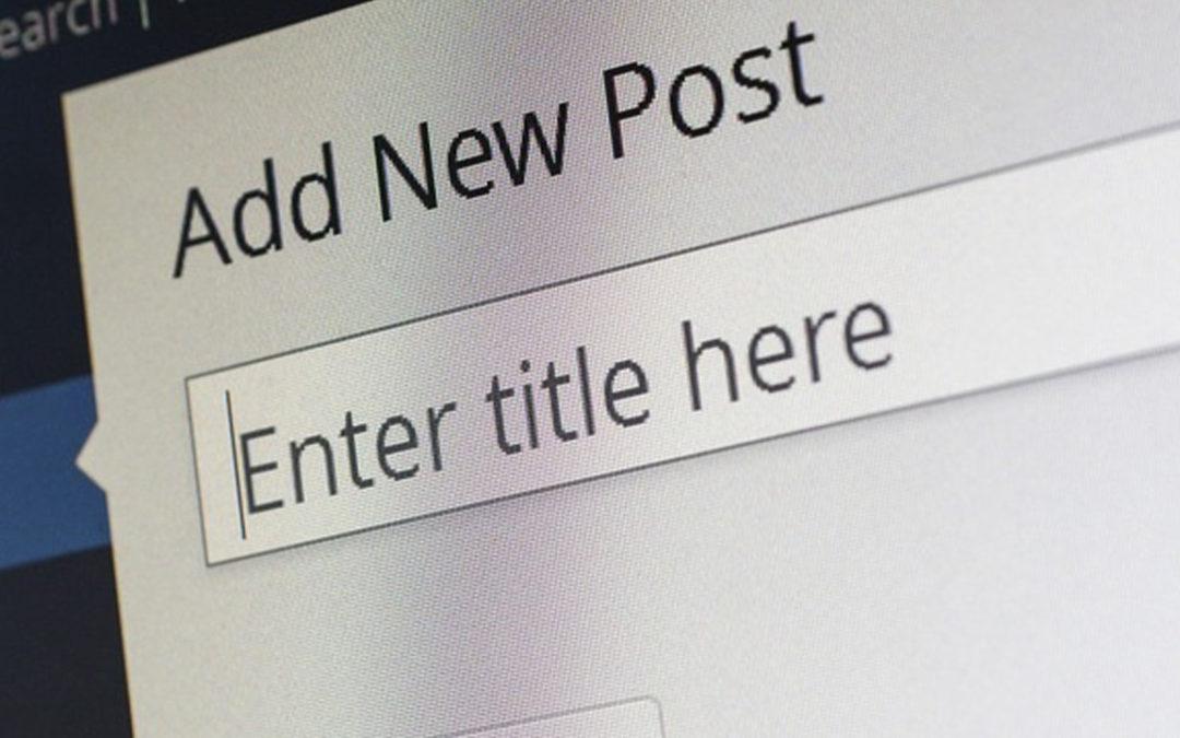 Strony na systemie WordPress