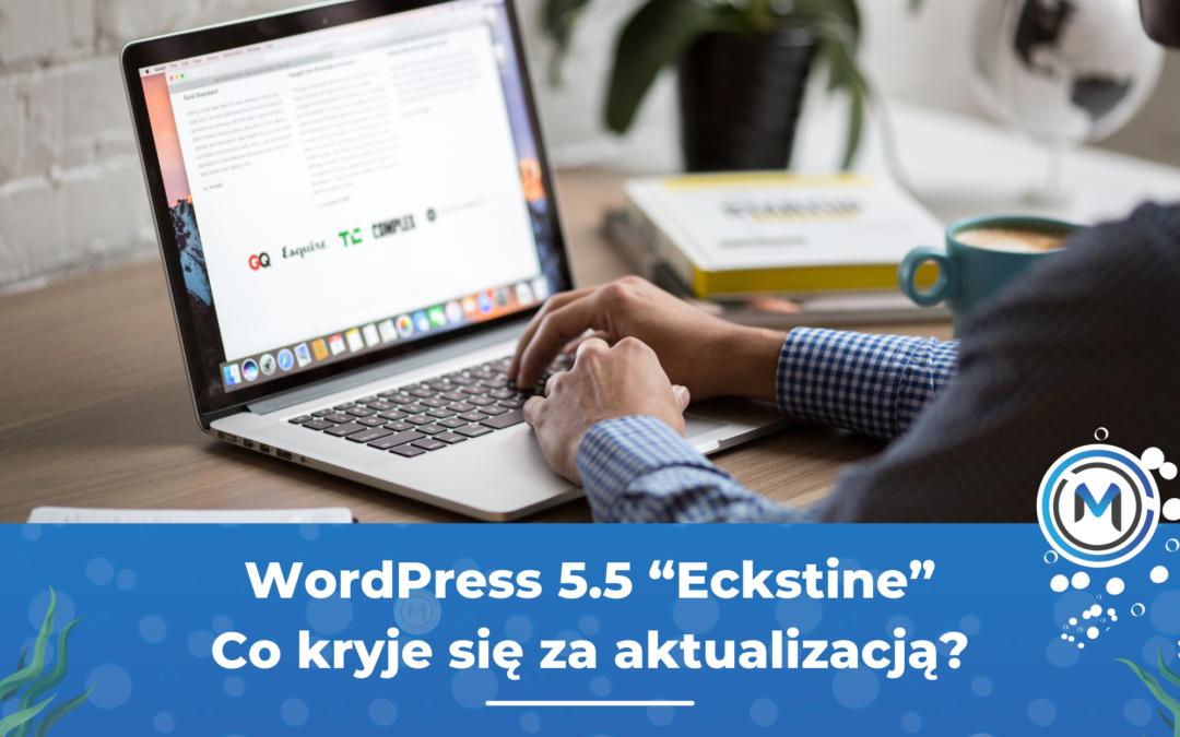 """WordPress 5.5 """"Eckstine"""" – co nowego?"""