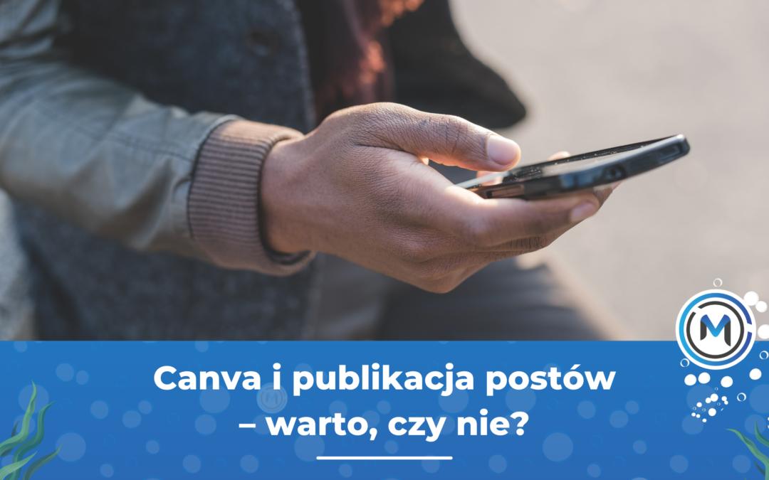 Nowość w Canva – automatyczne publikowanie postów w social mediach!